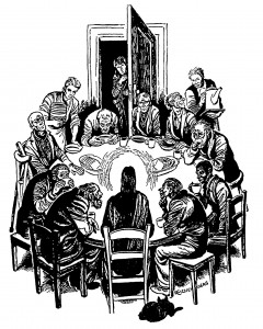 catholic worker table